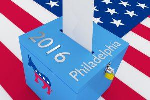 Democratic Presidential Nominee 2016 Election Concept