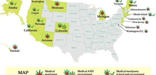 The Next Seven States To Legalize Pot; Seven State Process by UPG