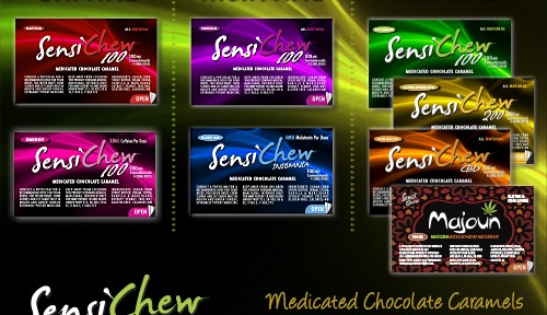 Chews: A Compact Cannabis-Infused Edible by Sensi Chew; Stays Fresh for 3 Months!