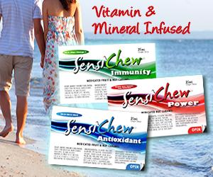 Take Your Daily Cannabis Vitamins to Prevent Disease Sensi Chews Marijuana Vitamins & Minerals