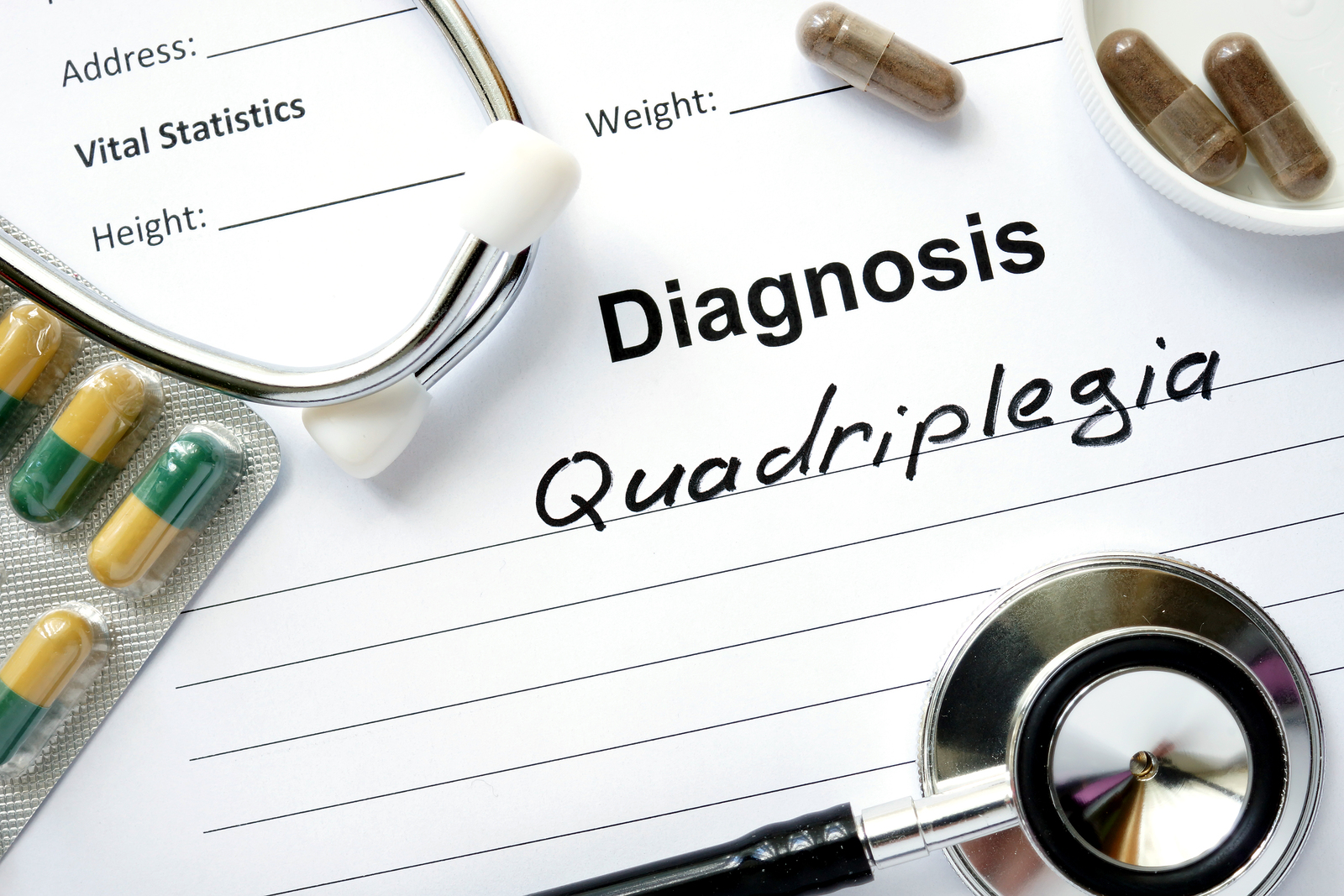 Quadriplegia and Marijuana Information: Treat Quadriplegia With Cannabis