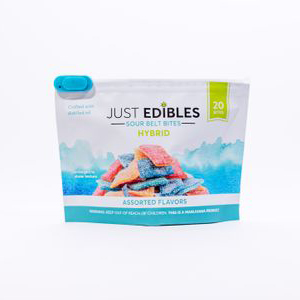 JE: SOUR BELT BITES 20PK 100 MG