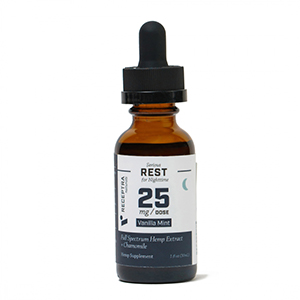 Serious Rest + Chamomile Tincture 25mg /dose (1oz)