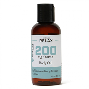 Seriously Relax + Arnica Body Oil (4oz)