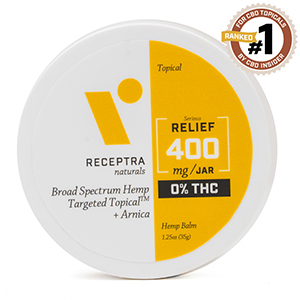 Serious Relief + Arnica Targeted Topical 0% THC