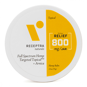 Receptra Relief Targeted Topical 800mg 2.5oz